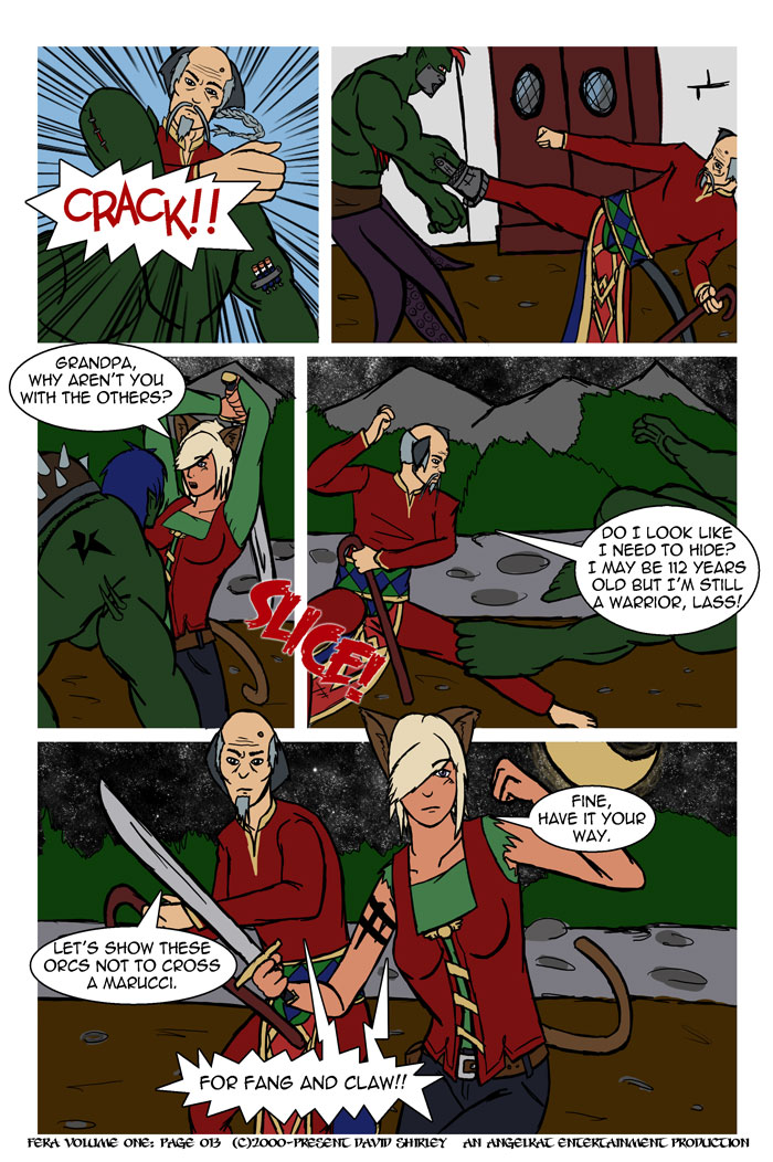 Fera: issue 01 page 12