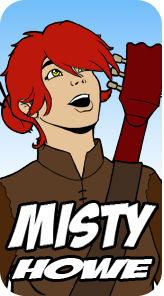 Misty Howe - Human - Female - Magic User - Has No Idea What's Going On