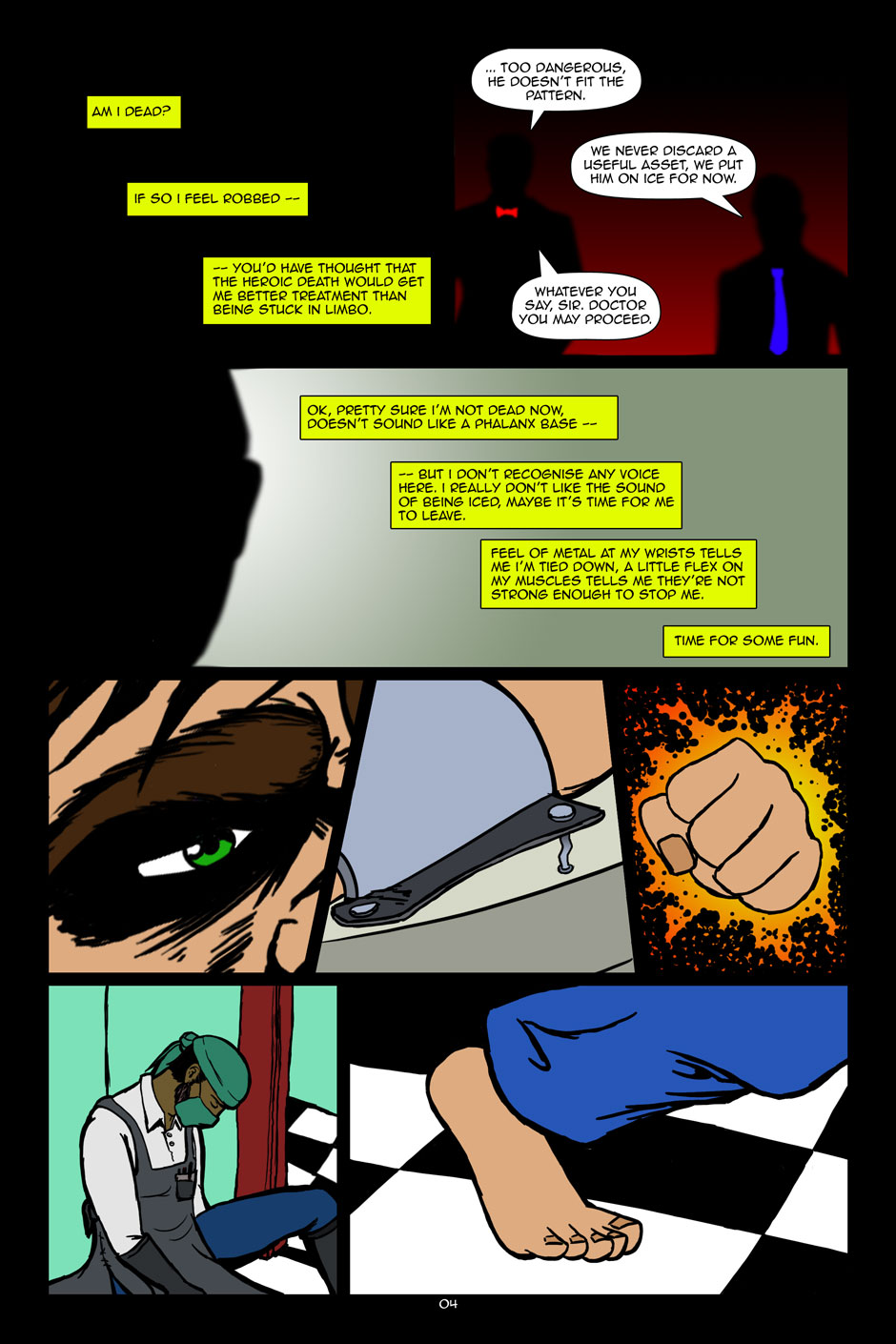 The Editors: issue 01 page 04