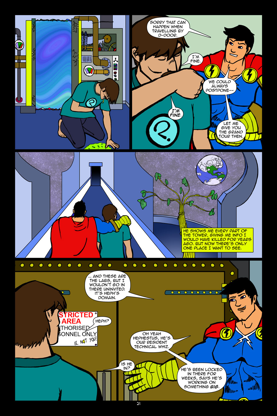 The Editors: issue 01 page 21