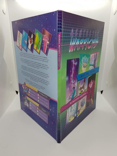 aesthetic warriors art book binding