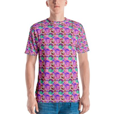 everyone likes butts all over print tshirt