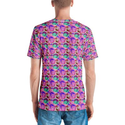 everyone likes butts all over print tshirt back