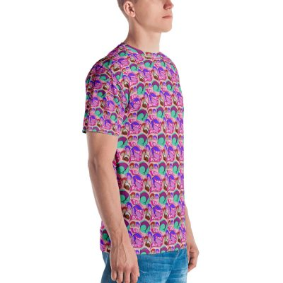 everyone likes butts all over print tshirt side