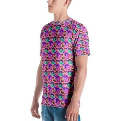 everyone likes butts all over print tshirt side 2