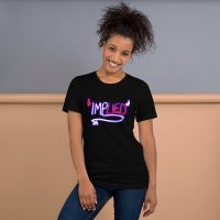 ImpLIED Unisex T-Shirt (Black)